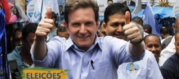 Marcelo Crivella é o novo prefeito do Rio (Foto: Reprodução)