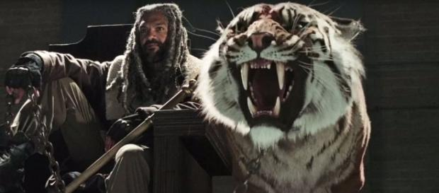 The Walking Dead Season 7: Khary Payton Talks Ezekiel & Shiva Photo: Blasting News Library - screenrant.com