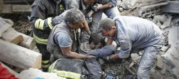 Tremor na Itália causa deslizamentos