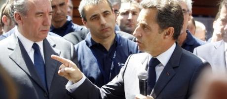 Nicolas Sarkozy et Francois Bayrou