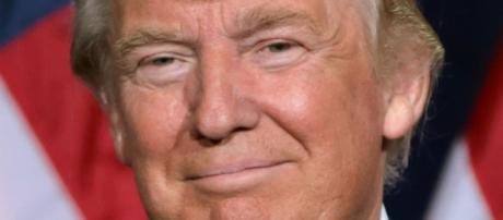 Source: Wikimedia, Homemade Donald Trump, Hillary Clinton Halloween masks