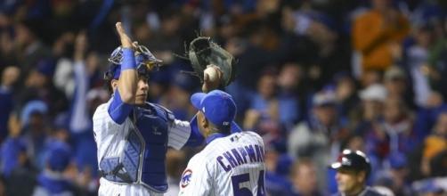 Chicago Cubs 3-2 Cleveland Indians: Aroldis Chapman puts in ... - onlinenigeria.com