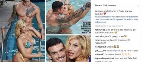 Gossip Uomini e Donne: Lucas Peracchi contro Paola Caruso