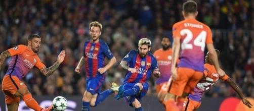 Há duas semanas, o Barcelona goleou o Manchester City por 4 a 0. Será que agora tem revanche?