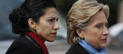 Huma Abedin has put Hillary Clinton at risk (via Blasting News image library - counterjihadreport.com)