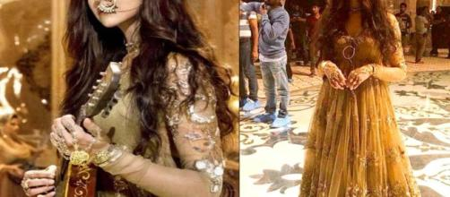 REVEALED! First look of Deepika Padukone from Bajirao Mastani's ... - filmymonkey.com