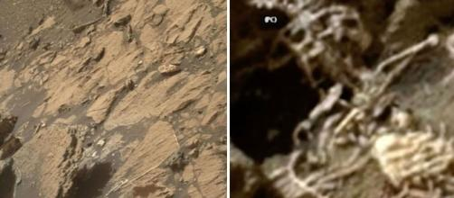 Unexplained footage of 'alien skeleton' on Mars fuels conspiracy ... - mirror.co.uk