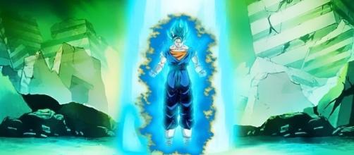Vegetto Dios azul, en el futuro de Trunks