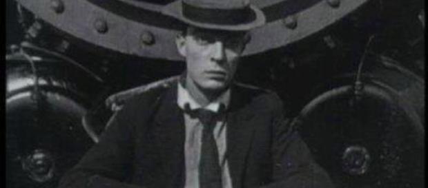Cena do curta 'The Goat', de 1921