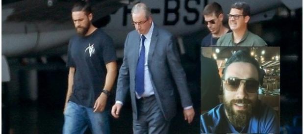 Lucas participou da prisão de Eduardo Cunha (Foto: Reprodução)