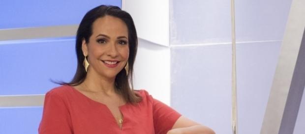 Maria Beltrão cometeu a gafe ao vivo na Globo News