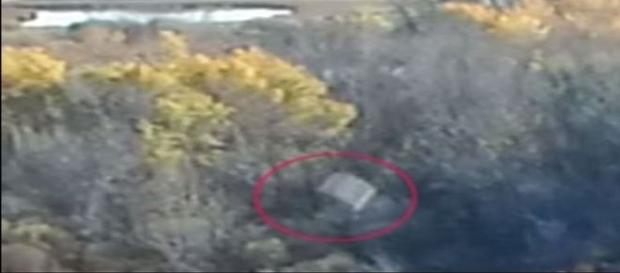 Objetos foram flagrados por um drone em pleno voo (MUFON)