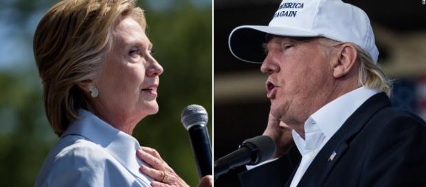 Trump riduce il distacco dalla Clinton - cnn.com