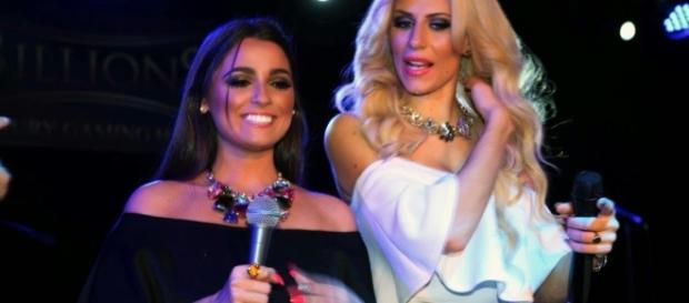 Paola Caruso insieme ad Alessia Macari