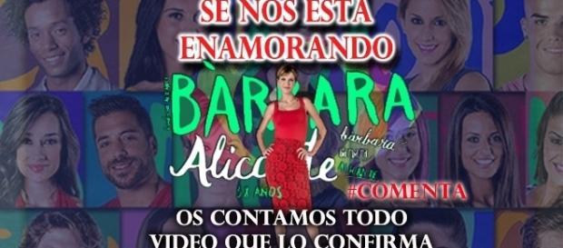 Se nos enamora Bárbara dentro de la casa?