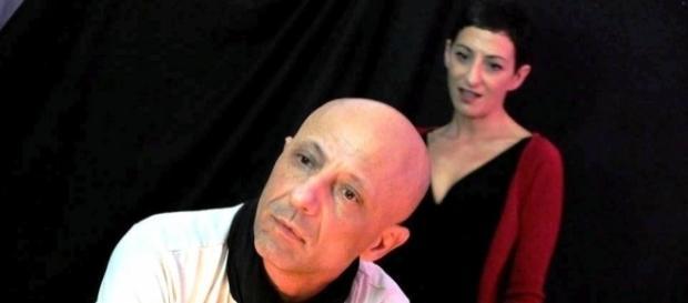Tino Caspanello e Cinzia Muscolino in scena