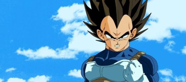 Vegeta en la serie Dragon Ball Super