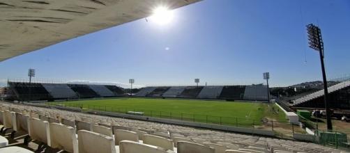 Arena Botafogo, na Ilha do Governador: palco do Fla-Flu do dia 13 de outubro (Foto: Globoesporte)