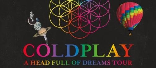 Coldplay in concerto a Milano nel 2017