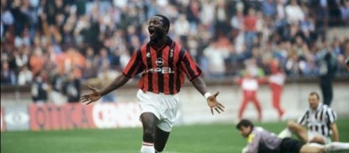 George Ousmane Weah. Qui al Milan