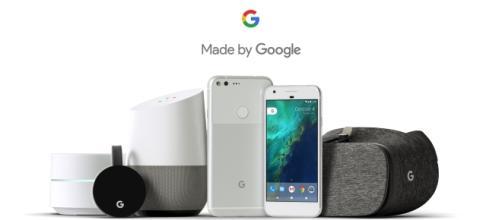 I prodotti presentati da Google