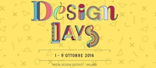 Il logo ufficiale della manifestazione Design Days