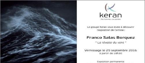 """Jusqu'au 2 décembre, découvrez les impressionnantes mers déchaînées de Franco Salas Borquez dans son exposition """"La Révolte du Vent""""."""