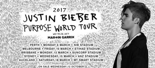 Justin Bieber Announces Australian Tour • Howl & Echoes - howlandechoes.com