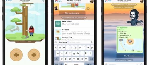 Telegram 3.13 e Gaming platform