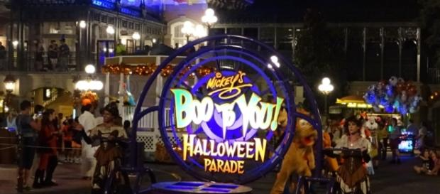 Adults can stay up for the later Boo to You Parade time. (Photo by Barb Nefer)