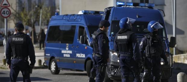 Corpo de Intervenção da Unidade Especial de Polícia para manutenção da ordem publica