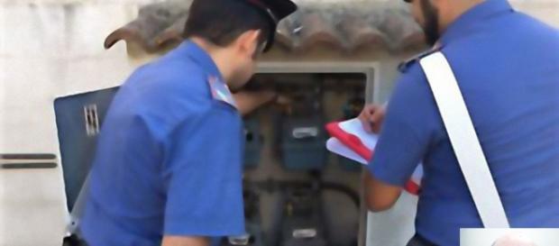 I Carabinieri di Carbonia hanno arrestato Giorgio Mocci. (foto piccola in basso a destra)