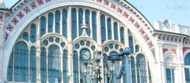 La facciata ottocentesca di Porta Nuova