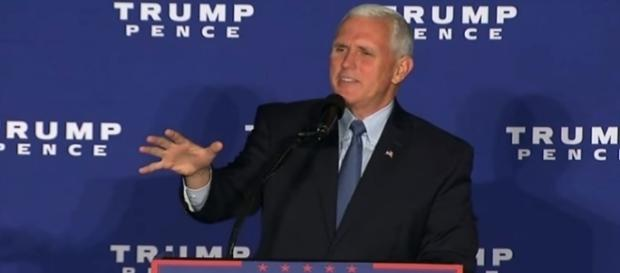 Mike Pence on 2016 election media coverage, via YouTube