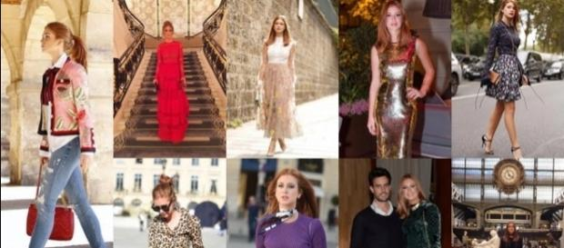 Modelitos utilizados por Marina Ruy Barbosa na Fashion Week e passeios por Paris.