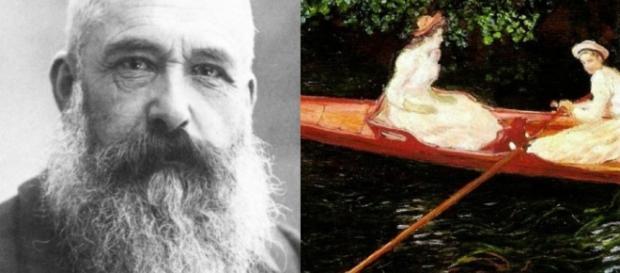 O pintor francês Claude Monet / Imagens: Reprodução