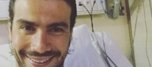O sertanejo descobriu um tumor no cérebro, após acidente no Saltibum