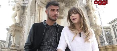 Aldo e Alessia video confronto