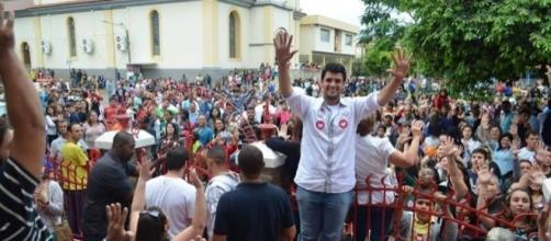 Enoghalliton Abreu Arruda, eleito prefeito.