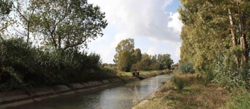 Il canale dove è morto il piccolo Alessandro