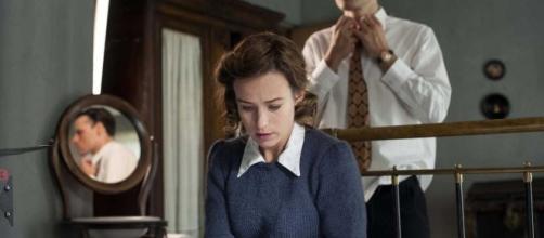 Marta recibe una paliza de su marido /Tve1