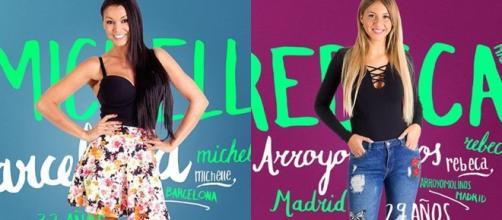 Michelle y Rebeca, aspirantes a concursar en 'GH 17' tras la ... - bekia.es