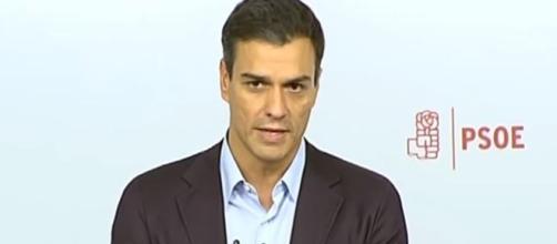 Pedro Sánchez, ex secretario general del PSOE