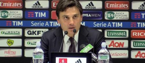 Vincenzo Montella, tecnico del Milan
