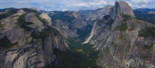 Yosemite's Half Dome is evidence of the park's glaciation. Photo-Pixabay.