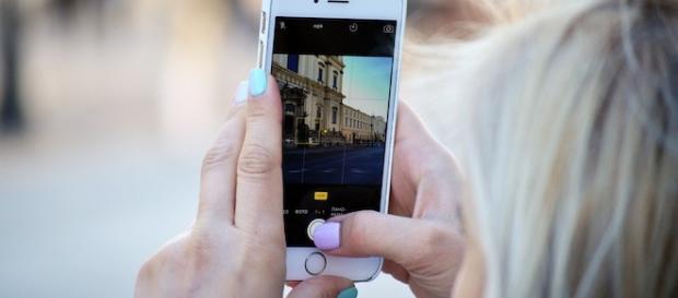 A smartphone user./ Photo by creative commons, via Pixabay.com