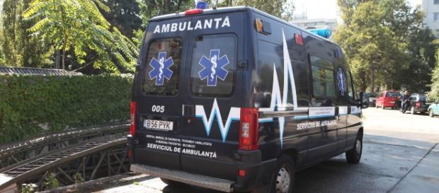 Ambulanța neagră a fost scoasă din circulație