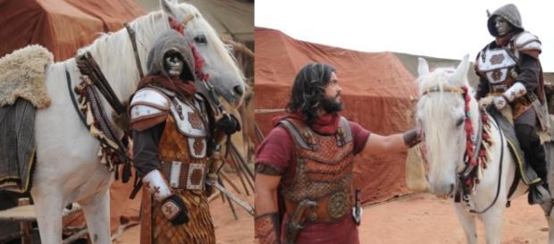Josué se encontra com o Soldado Mascarado e descobre sua identidade
