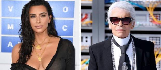 Kim Kardashian: Karl Lagerfeld findet, sie ist selbst schuld ... - stern.de