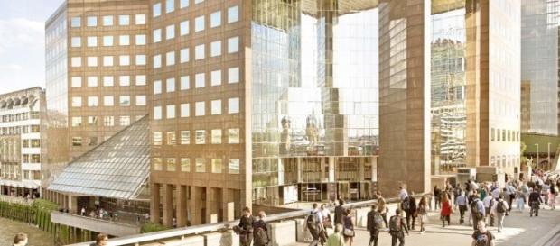 La city londinese, cuore dell'economia britannica